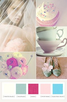 Ideas Wedding Colors Schemes Shabby Chic For 2019 Wedding Color Pallet, Wedding Color Schemes, Colour Schemes, Color Combos, Wedding Colors, Shabby Chic Colors, Stoff Design, Web Design, 100 Layer Cake