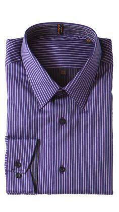 Brighton Point, Purple by Ben Sherman Shirts