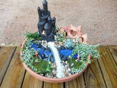 Basic Fairy Garden Instructions