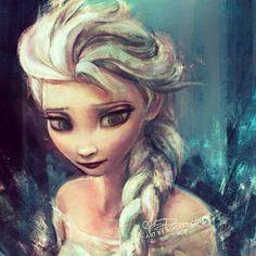 Elsa (Disney's Frozen)  - alicexz instagram