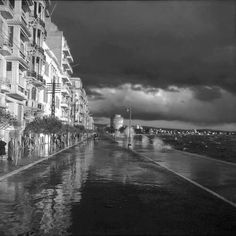 Thessaloniki, Macedonia Greece, Greece Travel, Athens, Old Photos, New York Skyline, Places To Visit, Island, Black And White