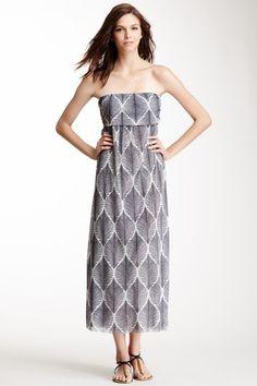 Bandeau Maxi Dress#