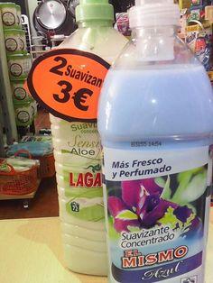 jacrix en Yecla la mejor tienda de productos de limpieza  te ofrece oferta 2×1 en suavizantes llévate 2 al precio de uno por 3,00€, pensamos en tu hogar, pensamos en tu economía, pensamos en tí !