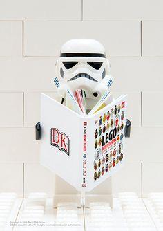 #starwars stormtrooper fan of lego