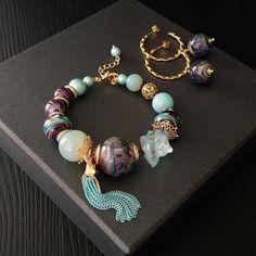 Bridesmaid Flip Flops, Dangles, Beaded Bracelets, Jewellery, Accessories, Ear Rings, Cute Bracelets, Shells, Manualidades