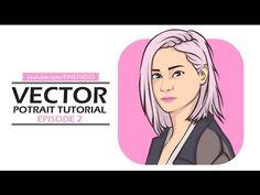 Vector Potrait Tutorial - Adobe illustrator