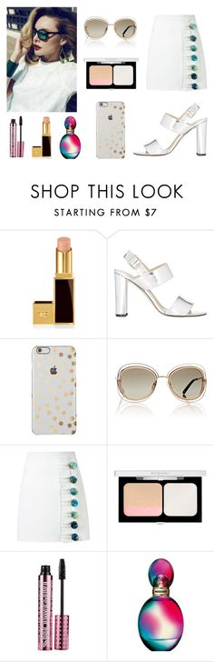 """[Clean-White] 2016 BRYAN YANG'S PERFECT MATCHING 205"" by bryan-yang ❤ liked on Polyvore featuring Tom Ford, Manolo Blahnik, Chloé, Christopher Esber, Givenchy, Barry M and Missoni"