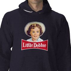 Show your Little Debbie love in this comfortable, retro hoodie. Buy it in the Facebook store: http://on.fb.me/tHo8sl