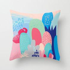 Pink Magical Forest Cushion