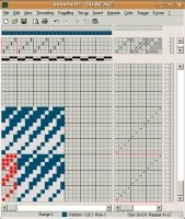 DB-WEAVE is a software to help you design dobby loom patterns. It supports weaving such patterns on a variety of supported loom types (e.g. ...