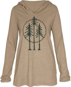 Tree Yoga Hoody: Soul Flower Clothing