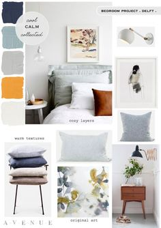 Weekend Bedroom Makeover - Avenue Lifestyle Avenue Lifestyle You are in the right place about Diy In Interior Design Tips, Interior Design Inspiration, Interior Design Living Room, Moodboard Interior Design, Design Ideas, Design Blogs, Diy Design, Mood Board Interior, Home Interior