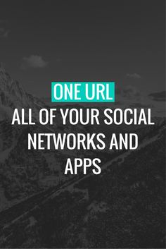 The smart link that matters. Social Networks, Social Media, Media Smart, How To Find Out, App, Link, Apps