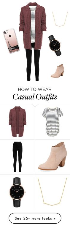 """""""Casual Perfected"""" by c-gull92 on Polyvore featuring Balmain, Splendid, WearAll, Maiden Lane, Topshop and Casetify"""