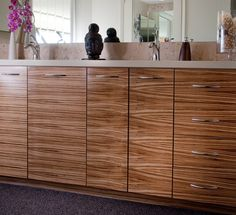 31 Best Cabinets - zebra wood images in 2012 | Bathroom ...