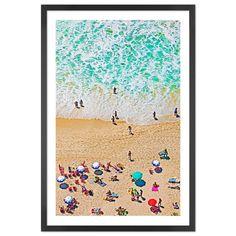Copacabana Beach Framed, by John W Banagan Dreaming of Summer!