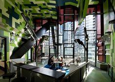 RMIT Swanston Academic Building's Pixelated Facade Remixes the...