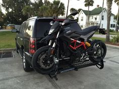 Purchased a new Ducati from Ducati, Triumph, BMW of Daytona Beach while at bike week. Needed a way to haul it home. Called around found Barney's Motorcycle out of St. Petersburg had one in stock. Brett shipped it to the Ducati dealer for me and I got it next day. Ducati Dealership set me up with all the tools and workspace I needed. Assembly was easy and it works perfect. I'm sure it will get used a lot! Motorcycle Carrier, New Ducati, Moto Bike, Daytona Beach, David, Bmw, Tools, Gallery, Vintage Motorcycles