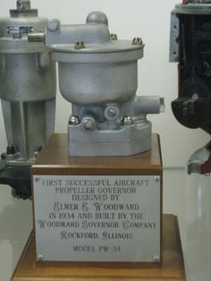 First Successful Aircraft Propeller Governor Model PW-34