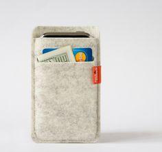 Iphone wool wallet case