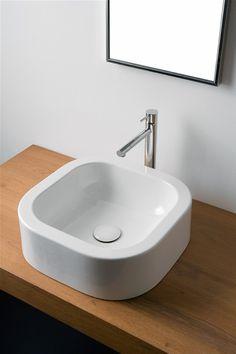 Washbasin 41x41 scarabeo