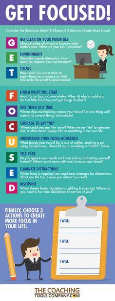 Get Focused Infographic
