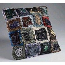 Swiss Executive Dark Multi Cushion x Soft Furnishings, Brighton, Cushions, Dark, Throw Pillows, Toss Pillows, Reupholster Furniture, Pillows, Pillow Forms