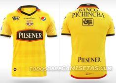 Barcelona Sporting Club de Guayaquil Camisetas De Fútbol 3668f0f867624