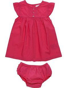 Robe + culotte à volants                                                                                                                                                                                                                                                                                                         rose vif Bébé fille