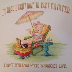 Mary Engelbreit Artwork-I'm Glad-Handmade Fridge Magnet Pictures Of Mary, Cute Pictures, Vintage Pictures, Mary Engelbreit, Creative Words, Art Quotes, Quotable Quotes, Childrens Books, Whimsical