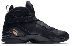 95428b8a486f15 Air Jordan 8 OVO Black Retro VIII Drake AA1239 045 Vintage Sneakers