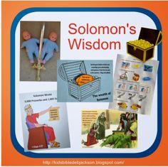 Bible Fun For Kids: Solomon's Wisdom