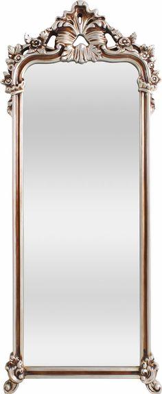 OnLine Atelier - Loja Virtual - arte - decoração - design - Espelho ref 001022 com 4mm, com moldura em PU Prata estilo Vintage,com 70cm de largura x 168 cm de altura. Pronta Entrega. Informações: onlineatelier@hotmail.com (54)9165-9726