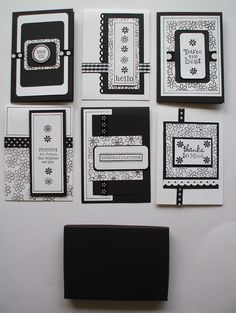 A Card/Stationary Set for all occasions! ....still searching