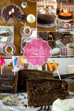 SACHERTORTE KLASSISCH | GELINGT GARANTIERT | Stylepeacock | Happy Boho Interior & Lifestyle Rezept für eine klassische Sachertorte gesucht? Diese hier ist unwiderstehlich saftig und schokoladig. Das von mir optimierte und erprobte Rezept gelingt garantiert dank meiner genauen Anleitung. Probiert es aus! #sachertorte #schokokuchen #chocolatecake #sachercake #tortenrezept #kuchenbacken Boho, Lifestyle Blog, Desserts, German, Interior, Cooking, Treats, Classic, Tailgate Desserts