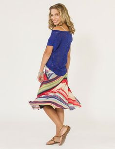 JILLIAN MULTI SKIRT by Weston Wear $123.00