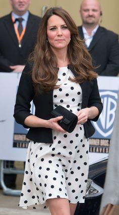 Los looks premamá de Kate Middleton