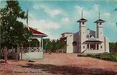 Mineral Wells Texas TX 1908 Gazebo Casino Elmhurst Park Vintage Postcard | eBay