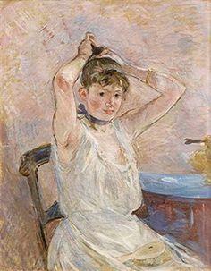 Berthe MORISOT - Le bain -