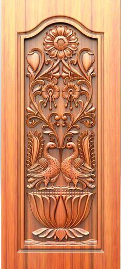 - Lilly is Love Wooden Front Door Design, Double Door Design, Wooden Front Doors, Home Door Design, Door Gate Design, Door Design Interior, Single Main Door Designs, Modern Wooden Doors, 3d Cnc