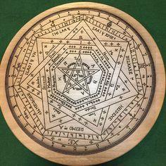 John Dee's Seal of God (Sigillum Dei Aemeth)