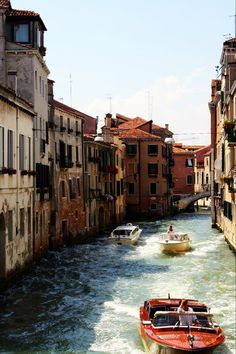 Venice-I love the mix of the old and new