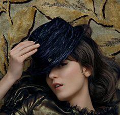 Irina Lazareanu for Maison Michel Hats