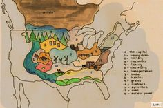 The Hunger Games.  I always wondered where the districts were located.