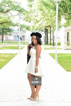 Graduation — Audie J. Phd Graduation, College Graduation Pictures, Grad Pics, Graduation Celebration, Girl Graduation Pictures, Graduation Picture Poses, Graduation Photoshoot, Grad Cap, Dress Picture