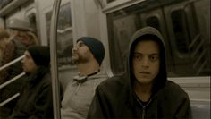 train nyc mr robot rami malek subway paranoid trending #GIF on #Giphy via #IFTTT http://gph.is/27hRVt3