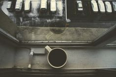 Coffee at the window.