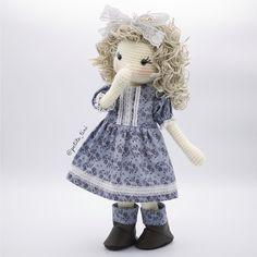 I wonder what mischievous little Victoria has been up to! #amigurumi #babynursery #crochet #crochetdoll #clothdoll #dolldress #dolloutfit #fabricdoll #ganchillo #kidsdecor #kidsroom #etsy #etsyAU #BubblesAndBongo by petite_tini