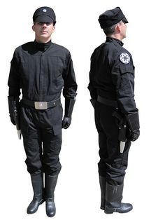 Star Wars 501st Imperial Tie Fighter Pilot Cosplay Costume Jumpsuit Flight Suit