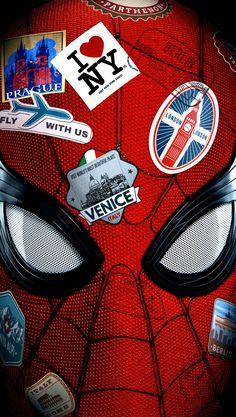 Spiderman Far From Home Poster iPhone Wallpaper - Marvel Universe Films Marvel, Marvel Art, Marvel Heroes, Marvel Cinematic, Marvel Avengers, Marvel Comics, Amazing Spiderman, Spiderman Spider, Spiderman Poster
